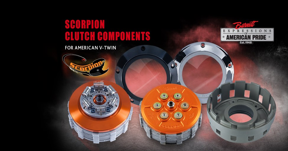 Scorpion Clutch Components