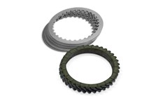 Victory Clutch Plate Kit- Carbon Fiber /
